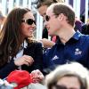 كيت ميدلتون والأمير وليام ذهبوا لدعم بنت عمتهم زارا فيليبس في الألعاب الأولمبية للفروسية