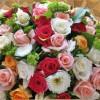 صباح كله حب  وورود …